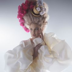 Karl Lagerfeld and Lindsey Wixson Photo Shoot - Spring's Best Couture 2014