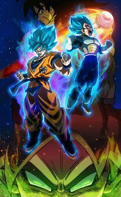 Dragon Ball Super Movie: Broly - poster by Vegetasavage on DeviantArt Dragon Ball Gt, Disney Pixar, Dragonball Super, Goku Super, Broly Movie, Manga Dragon, Super Movie, Hindi Movies, Son Goku