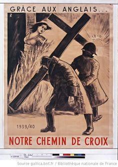 Anti -English  Vichy Propaganda.