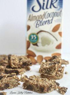 Banana Coconut Bar - Lauren Kelly Nutrition #vegan #glutenfree #dairyfree
