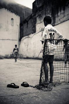 Cute soccer boys