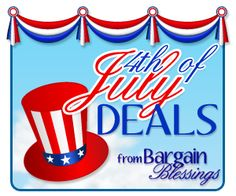 Huge list of 4th of July deals and freebies!