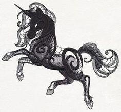 Dark Creatures - Unicorn_image