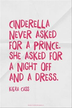 A Little Inspiration cinderella