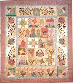Rosewood Cottage - Picket Fence Border, Borders & Finishing Quilt Pattern TIM-5506