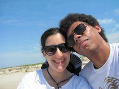 Praia Da Juréia - Iguape... caminhamos vários kilometros e vimos o lugar onde o rio se junta com o mar. Lembrei que não importa a distancia, sempre nossas vidas estão entrelaçadas, igual as aguas turbulentas que vimos do rio e o mar juntos!!