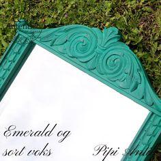 Spejl med Emerald Autentico kalkmaling