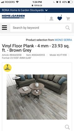 $71.99 / box $3.00/ sq ft