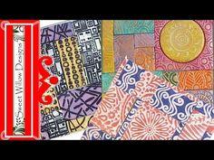 How to Make Polymer Clay Mini Mosaics #Polymer #Clay #Tutorials
