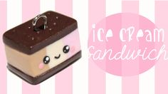 How to make a cute little ice cream sandwich in Polymer Clay. You can make it in other colors if you want to :) Have any ideas about what I should do next? T...