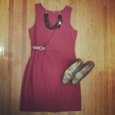 Mixing things up with this side synched dress