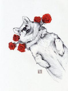 https://www.etsy.com/listing/262543918/ballpoint-and-micron-pen-drawing-of