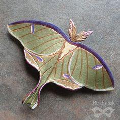 Art Print Luna Mothtesorobella On Etsy $2000  Actias Luna Classy Small Moths In Bathroom Inspiration Design