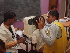 106 people had a free eye check up on World Sight Day