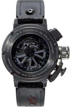 693ce0aa844 U-Boat Watch Chimera 46 Opera Nera 7673 Watch