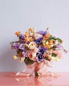 Sweet Pastel Spring Bouquet