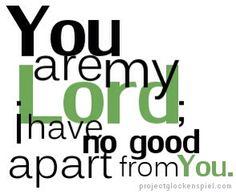 Psalm 16:2