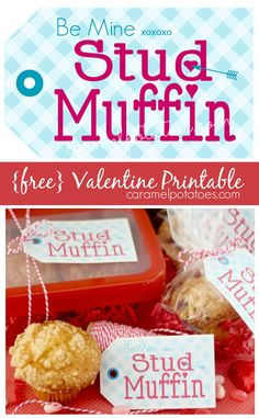 You know this will bring a smile to his face!  {free} Valentine printable