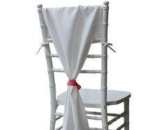 Chiavari Chair Hoods Navy Blue Chair by BurlapAndSilkCompany