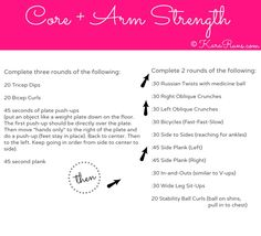 Core + Arm Strength