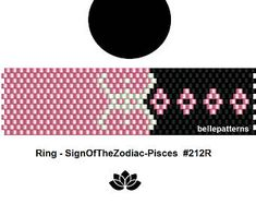 peyote ring pattern,PDF-Download, #212R, beading pattern, beading tutorials, ring pattern
