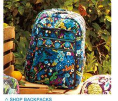 Shop Backpacks-Vera Bradley  new Spring 2013