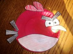 Making Learning Fun | Angry Bird Paper Plate Crafts  Paper plate projects for eight of the Angry birds can be found by following the link.