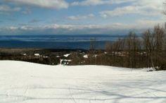 overlook of Lake Superior Lutsen ski area, MN