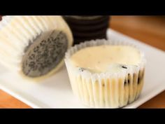 These Mini Oreo Cheesecake Cupcakesare a mouthwatering dessert with soft and cre. Small Desserts, Köstliche Desserts, Delicious Desserts, Oreo Cheesecake Cupcakes, Cheesecake Recipes, Baking Recipes, Snack Recipes, Dessert Recipes, Snacks