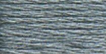 DMC Six Strand Embroidery Cotton 8.7 Yards Dark Steel Grey 117-414; 12 Items/Order