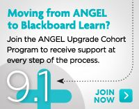 The latest version of ANGEL offers new enhancements but, from an upgrade perspective, the move will require very little change management.