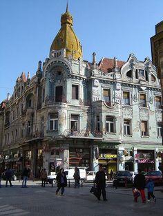 At the Oradea in Romania. Bulgaria, Places To Travel, Places To See, Places Around The World, Around The Worlds, Romanian Girls, Romania Travel, Little Paris, Bucharest Romania
