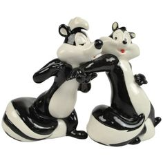Goofy Salt and Pepper Shakers-my favorite character Pepe-le-Pew