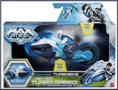 max steel action figure | Turbobike - Max Steel - 2013 Series - Mattel Action Figure