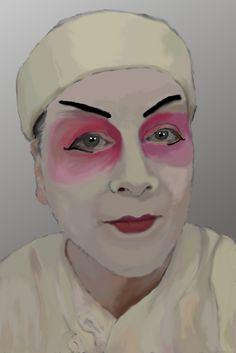 Maske für Turandot
