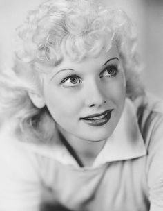 Lucille Ball, 1939 - can you see a glimpse of the whacky red head she is to become?
