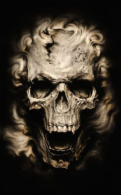 fantasy art skulls - Google Search