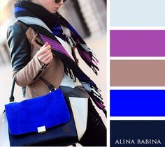 Fashion color matching harmony & pallets colour combinations fashion, c Colour Combinations Fashion, Fashion Colours, Colorful Fashion, Color Combos, Color Schemes, Color Combinations For Clothes, Look Fashion, Womens Fashion, Merian