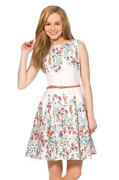 ORSAY ☼ KLEIDER Kleid mit Blumen-Print | Fashion | Pinterest