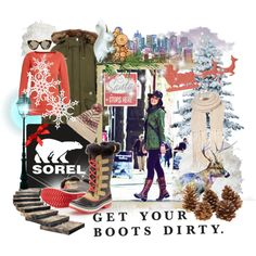 """Get your boots dirty."" by minniesoda on Polyvore"