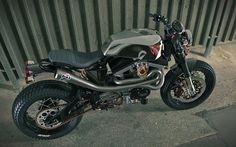 Harley Sportster 'Trackmaster' - Desmodesign - Inazuma Cafe Racer