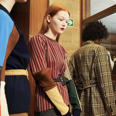 We got to see check stripes and more greatness at Toga's #aw17 show _______________________________________ Repost: @designscene - #TOGA #AW17 @togaarchives behind the scenes moments at #LFW by #alinkovacs @alin_kovacs  #toga #togaaw17 #lfw #LFW17 #fashionweek #colourblock #check #checkprint #stripes  via VOLT MAGAZINE OFFICIAL INSTAGRAM - Celebrity  Fashion  Haute Couture  Advertising  Culture  Beauty  Editorial Photography  Magazine Covers  Supermodels  Runway Models