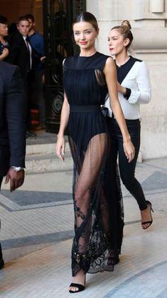 Miranda Kerr. Sheer elegance.