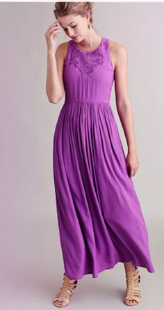 lovely #purple beach maxi dress http://rstyle.me/n/i84vvr9te