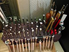 Leather craft tools.. by Marius Mellebye / 276ccm, via Flickr