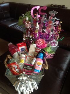 Hang Over Gift Basket
