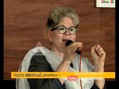 Sarah Joseph and KR Meera in Kozhikode Literature Festival - YouTube