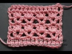 Easy crochet shells and arches pattern for scarfs, shawls, dishcloths, blankets, etc - YouTube