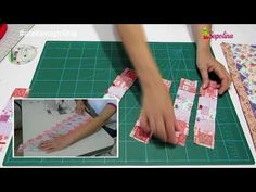 Seminole técnica paso a paso - YouTube Table Runners, Patches, Diy Crafts, Sewing, Simple, Youtube, 1, Floral, Fabric Scrap Crafts