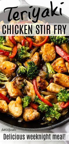 Best Stir Fry Recipe, Stir Fry Recipes, Stir Fry Meals, Crockpot Stir Fry, Stir Fry Meal Prep, Stir Fry Dishes, Healthy Stir Fry, Veggie Stir Fry, Keto Stir Fry
